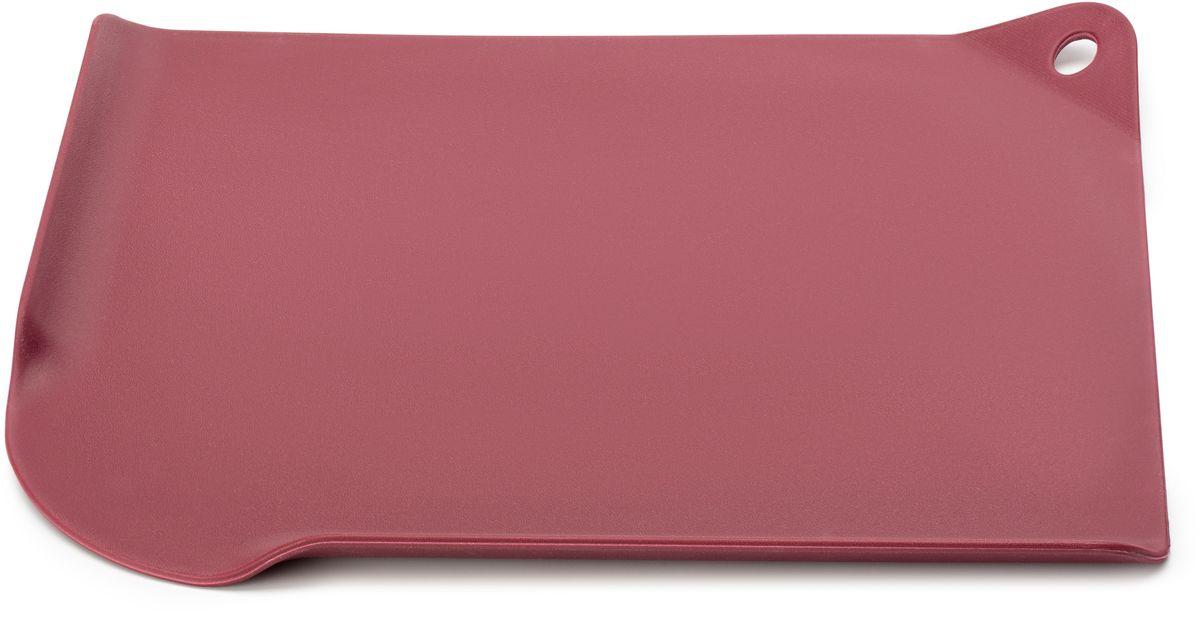 """Apollo Home & Deco Доска разделочная Apollo """"Let's create!"""", цвет: бордовый, 29,5 х 24,5 см LCT-29"""