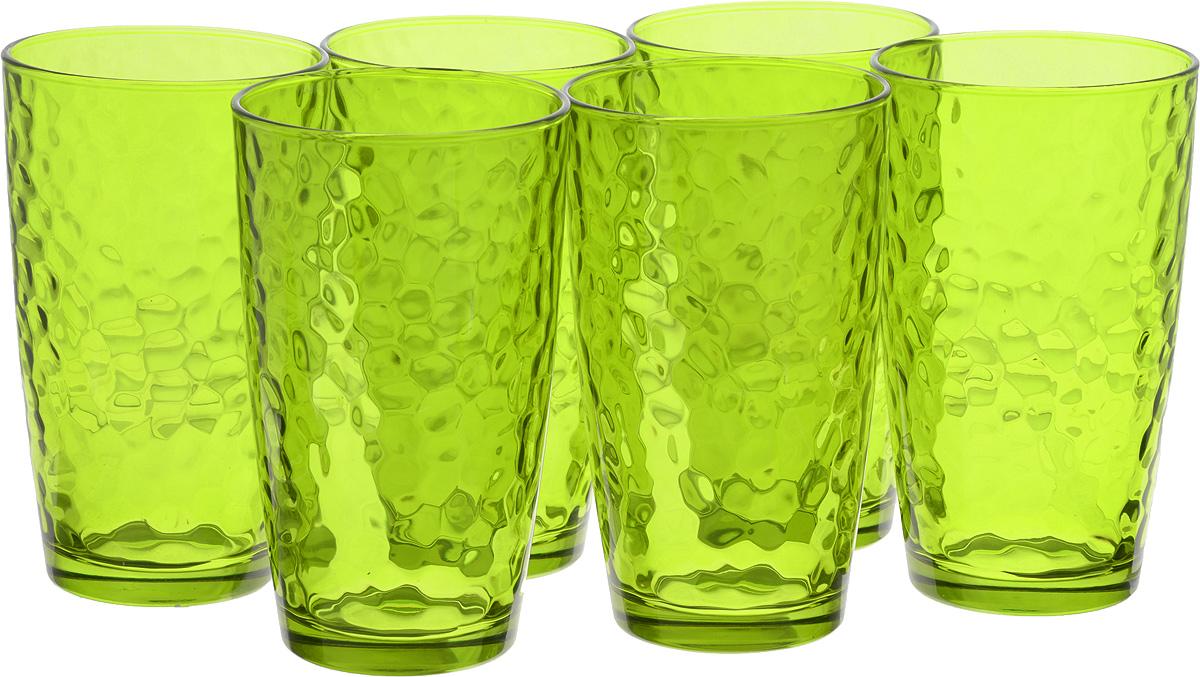 Набор стаканов Bormioli Rocco Палатина, цвет: зеленый, 6 шт662530M02321591Набор Bormioli Rocco Палатина выполнен из стекла, состоит из 6 высоких стаканов. Стаканы предназначены для холодных напитков. С внутренней стороны поверхность стаканов рельефная, что создает эффект игры и преломления. Благодаря такому набору пить напитки будет еще вкуснее. Стаканы Bormioli Rocco Палатина станут идеальным украшением праздничного стола и отличным подарком к любому празднику. Объем стакана: 490 мл. Диаметр стакана по верхнему краю: 8,5 см. Высота стакана: 14,5 см.