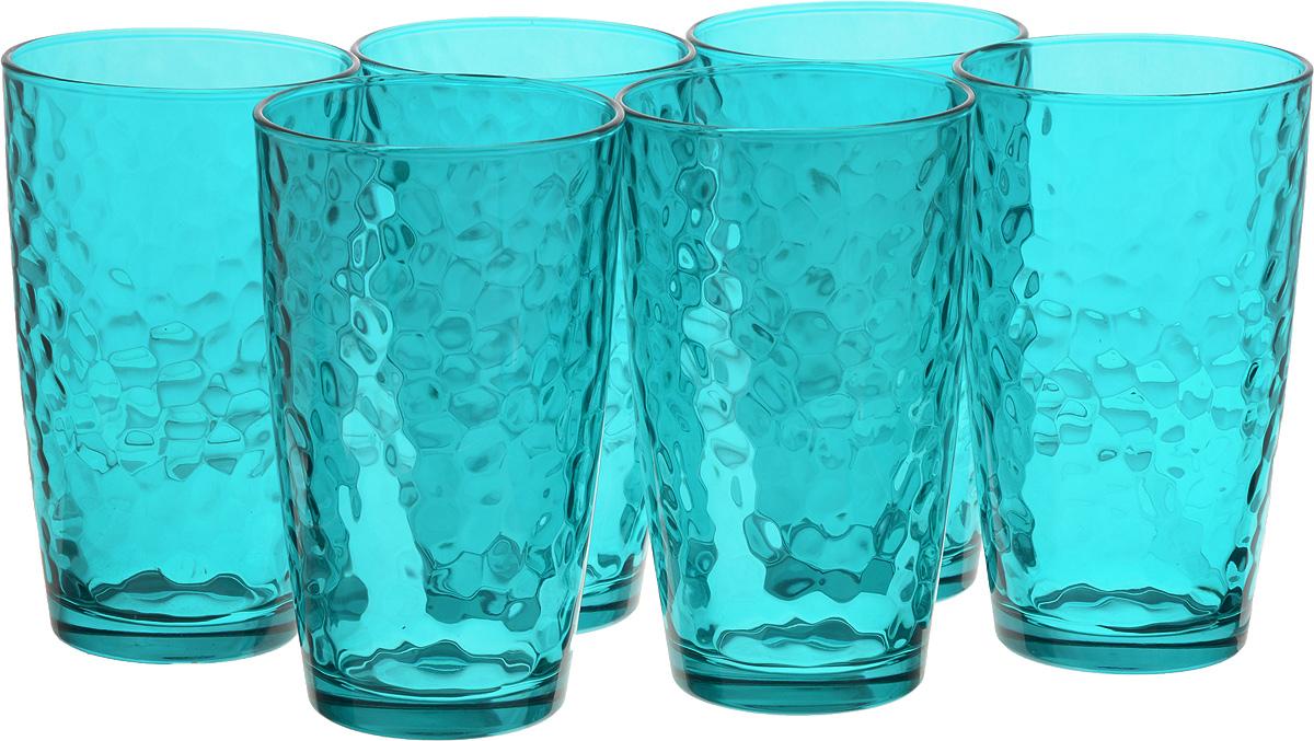 Набор стаканов Bormioli Rocco Палатина, цвет: голубой, 6 шт662530M02321588Набор Bormioli Rocco Палатина выполнено из стекла, состоит из 6 высоких стаканов. Стаканы предназначены для холодных напитков. С внутренней стороны поверхность стаканов рельефная, что создает эффект игры и преломления. Благодаря такому набору пить напитки будет еще вкуснее. Стаканы Bormioli Rocco Палатина станут идеальным украшением праздничного стола и отличным подарком к любому празднику. Объем стакана: 490 мл. Диаметр стакана по верхнему краю: 8,5 см. Высота стакана: 14,5 см.