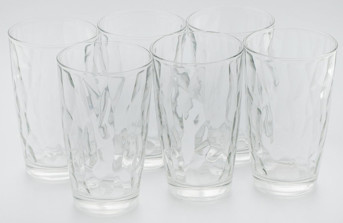 Набор стаканов Bormioli Rocco Даймонд, цвет: прозрачный, 6 шт350240M02321990Набор Bormioli Rocco Даймонд выполнен из стекла, состоит из 6 высоких стаканов. Стаканы предназначены для холодных напитков. С внутренней стороны поверхность стаканов рельефная, что создает эффект игры и преломления. Стаканы Bormioli Rocco Даймонд станут идеальным украшением праздничного стола и отличным подарком к любому празднику. Объем стакана: 470 мл. Диаметр стакана по верхнему краю: 8,5 см. Высота стакана: 14,5 см.