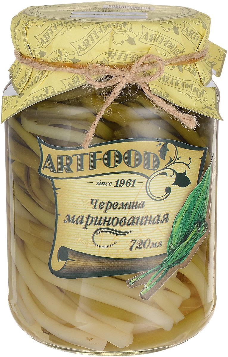 Artfood черемша маринованная, 720 мл23001110200023Черемша - низкокалорийный диетический продукт, который в сыром виде содержит всего 35 ккал. Черемша содержит много витамина С, эфирное масло и другие вещества, обладает фитонцидными свойствами. Имеет сильный запах чеснока, который частично удаляется, если перед употреблением черемшу обварить кипятком и залить уксусом. Обладает антицинготным общеукрепляющим свойством. Черемша полезна для работы сердца, она способна понижать кровяное давление и блокирует образование холестериновых бляшек. Чуремшу рекомендуют при авитаминозе, атеросклерозе и гипертонической болезни. Древние греки считали, что это растение обладает свойством поддерживать мужество. Уважаемые клиенты! Обращаем ваше внимание, что полный перечень состава продукта представлен на дополнительном изображении.