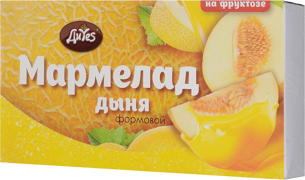 ДиYes Мармелад желейный Дыня на фруктозе, 185 г