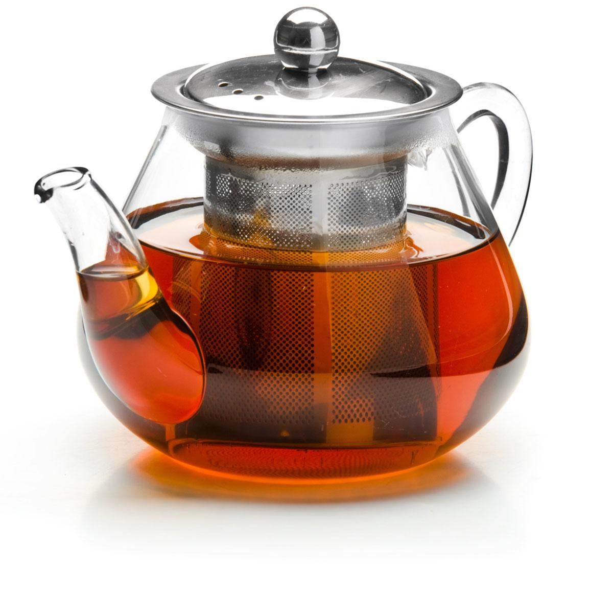 Чайник заварочный Mayer & Boch, с ситом, 600 мл. 2620126201