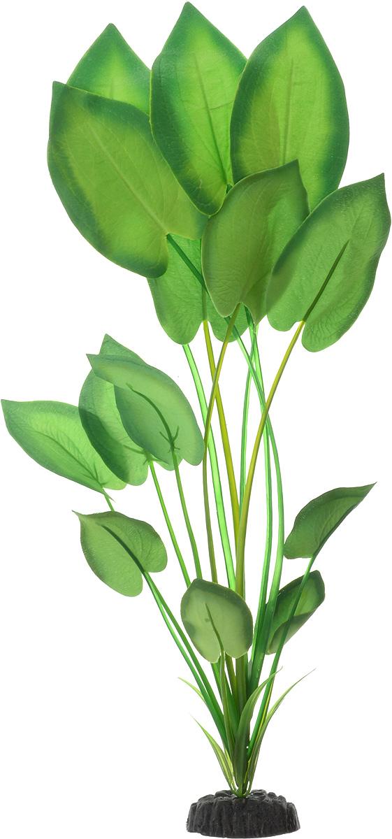 Растение для аквариума Barbus Эхинодорус бархатный, шелковое, цвет: зеленый, высота 50 смPlant 044/50Растение для аквариума Barbus Эхинодорус бархатный, выполненное из качественного шелка, станет оригинальным украшением вашего аквариума. В воде создается абсолютная имитация живого растения. Можно использовать в любой воде: пресной или морской. Изделие безопасно, не токсично, нейтрально к водному балансу, устойчиво к истиранию краски. Растение Barbus поможет вам смоделировать потрясающий пейзаж на дне вашего аквариума или террариума. Высота растения: 50 см.
