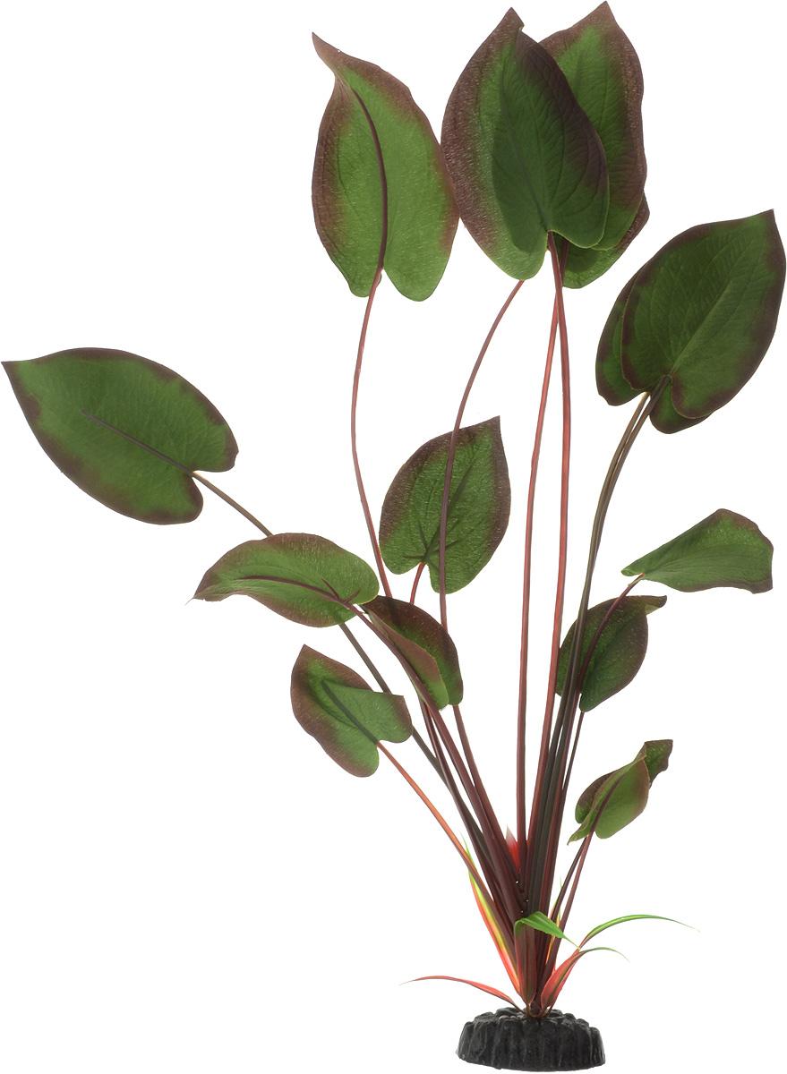 Растение для аквариума Barbus Эхинодорус бархатный, шелковое, цвет: зеленый, бордовый, высота 50 смPlant 043/50Растение для аквариума Barbus Эхинодорус бархатный, выполненное из качественного шелка, станет оригинальным украшением вашего аквариума. В воде создается абсолютная имитация живого растения. Можно использовать в любой воде: пресной или морской. Изделие безопасно, не токсично, нейтрально к водному балансу, устойчиво к истиранию краски. Растение Barbus поможет вам смоделировать потрясающий пейзаж на дне вашего аквариума или террариума. Высота растения: 50 см.