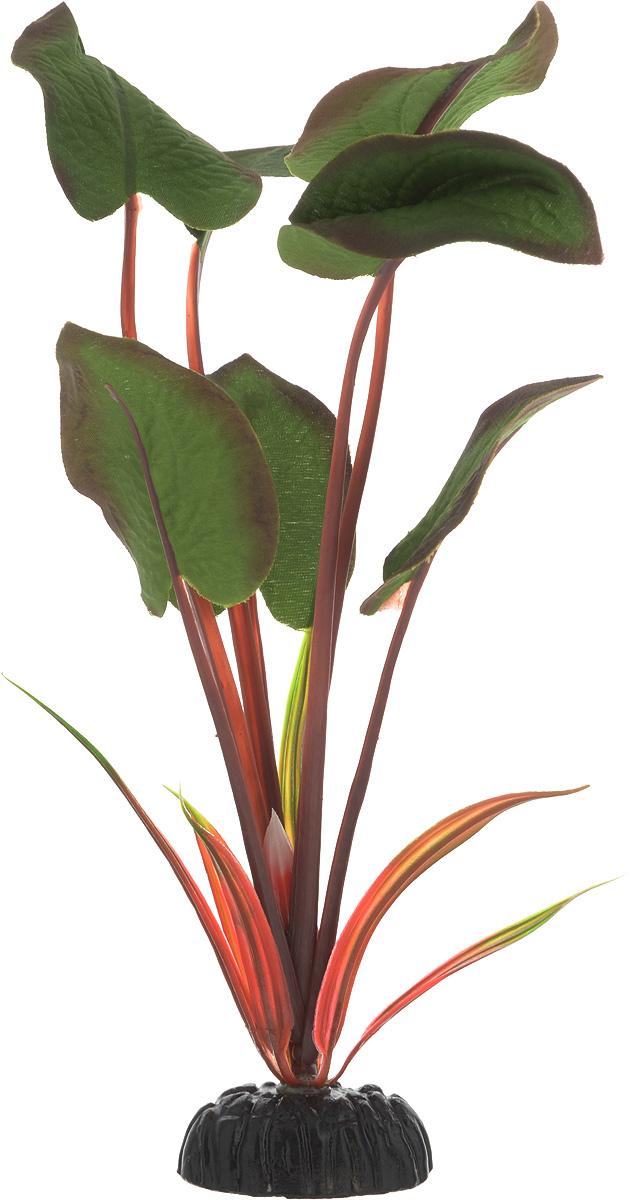 Растение для аквариума Barbus Эхинодорус бархатный, шелковое, высота 20 смPlant 043/20Растение для аквариума Barbus Эхинодорус бархатный, выполненное из качественного шелка, станет оригинальным украшением вашего аквариума. В воде создается абсолютная имитация живого растения. Можно использовать в любой воде: пресной или морской. Изделие безопасно, не токсично, нейтрально к водному балансу, устойчиво к истиранию краски. Растение Barbus поможет вам смоделировать потрясающий пейзаж на дне вашего аквариума или террариума. Высота растения: 20 см.