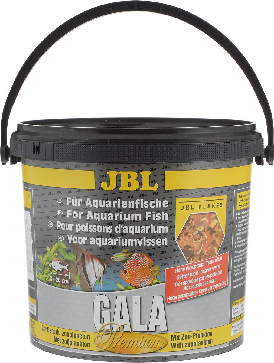 Корм JBL Gala для рыб, в форме хлопьев, 5,5 л (950 г)JBL4043300Корм JBL Gala отборное сырье и комбинация всех важных питательных веществ, отвечающая потребностям аквариумных рыб. Специальный метод сверхтонкого помола сырья и сбалансированная комбинация питательных элементов хорошо усваивается и не загрязняет воду. Ценные материалы и биологически активные вещества водоросли спирулины, а также жизненно важные витамины и инозит обеспечивают естественный и здоровый рост и повышают выживаемость. Рекомендации по кормлению: два или три раза в день порциями, которые могут быть съедены рыбами в течение нескольких минут. Товар сертифицирован.