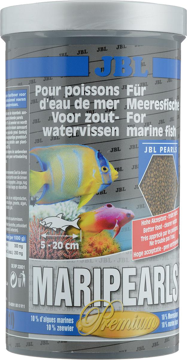 Корм JBL MariPearls для морских обитателей, в форме гранул, 560 г (1 л)JBL4059100Корм JBL MariPearls содержит комбинацию питательных веществ, подобранную специально для рыб, обитающих в морской воде, в новой жемчугообразной форме, которая наилучшим образом соответствует тактике питания этих рыб. Наличие морских водорослей и растительного сырья заботятся о сохранении здоровья рыб. Жизненно важные витамины, ненасыщенные жирные кислоты и каротиноиды укрепляют иммунитет и обеспечивают здоровый рост. Рекомендации по кормлению: 2-3 раза в день в количестве, которое съедается рыбками за 2-3 минуты. Товар сертифицирован.