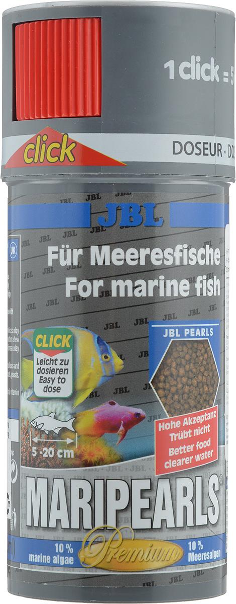 Корм JBL MariPearls для морских обитателей, в форме гранул, 140 г (250 мл)JBL4066100Корм JBL MariPearls содержит комбинацию питательных веществ, подобранную специально для рыб, обитающих в морской воде, в новой жемчугообразной форме, которая наилучшим образом соответствует тактике питания этих рыб. Наличие морских водорослей и растительного сырья заботятся о сохранении здоровья рыб. Жизненно важные витамины, ненасыщенные жирные кислоты и каротиноиды укрепляют иммунитет и обеспечивают здоровый рост. Рекомендации по кормлению: 2-3 раза в день в количестве, которое съедается рыбками за 2-3 минуты. Товар сертифицирован.