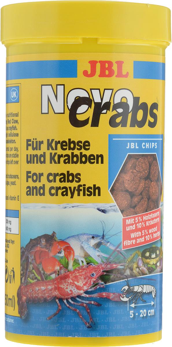 Корм JBL NovoCrabs для панцирных ракообразных, 250 мл (125 г)JBL3027200JBL NovoCrabs - это новый погружающийся под воду корм в форме палочек для панцирных ракообразных. Палочки не растворяются в воде. Корм наилучшим образом соответствует данному виду обитателей аквариума благодаря добавке древесных волокон. В состав корма входит высокая доля целлюлозы, которая, по мнению ученых, важна для строительства хитинового панциря. Маленькие креветки нуждаются в размягченном корме, который обеспечивается в JBL NovoCrabs. Корм может использоваться и для ракообразных, обитающих в морской воде. Рекомендации по кормлению: 2-3 раза в день в количестве, которое съедается рыбками за 2-3 минуты. Товар сертифицирован.