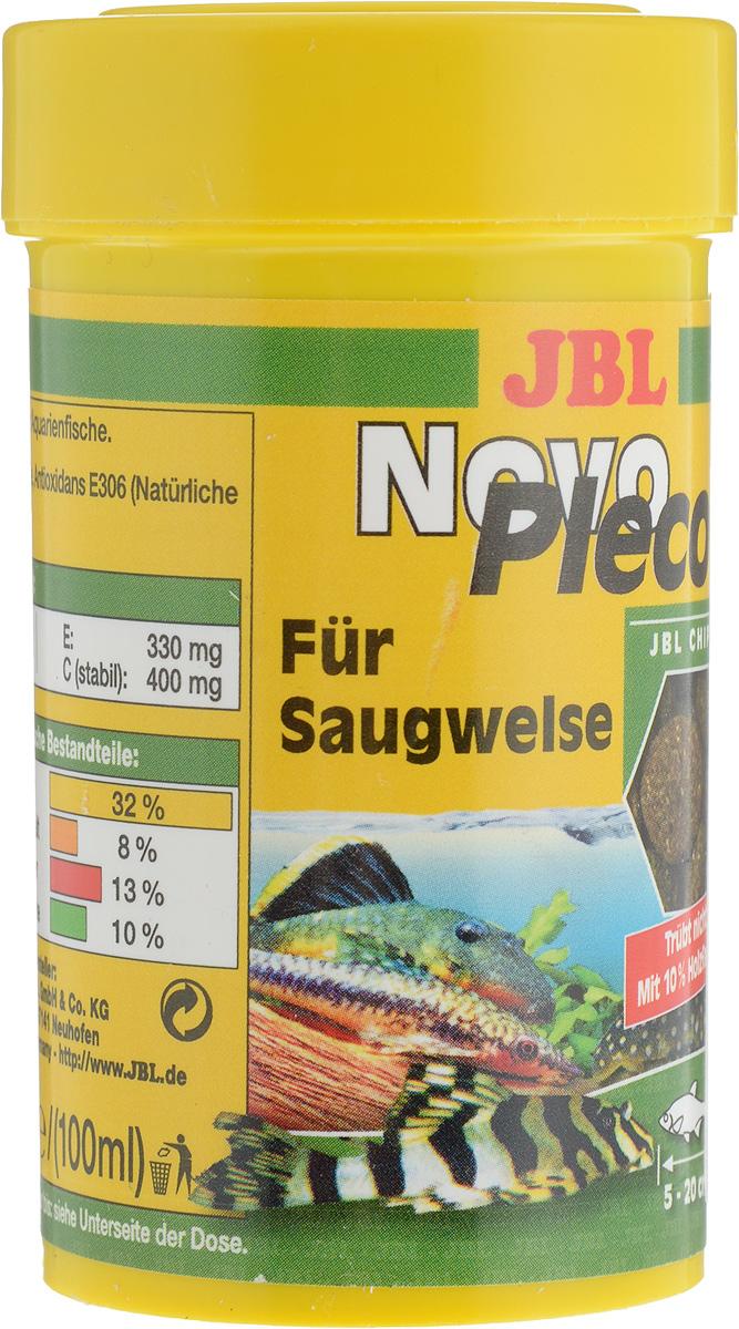 Корм JBL NovoPleco, для кольчужных сомов, в форме чипсов, 53 г (100 мл)JBL3031000Корм JBL NovoPleco представляет собой чипсы, изготовленные по специальной технологии, состав которых и консистенция специально подобраны для кормления кольчужных сомов и других донных рыб, питающихся растениями. Корм обеспечивает правильное питание. Быстро погружающиеся в воду чипсы сразу ложатся на дно аквариума, в зону досягаемости для его донных обитателей. Корм предназначен для рыб 5-20 см в длину. Рекомендации по кормлению: 2-3 раза в день столько корма, сколько рыбки могут за 2-3 минуты. Состав: растительные побочные продукты, овощи, злаки, моллюски и ракообразные, водоросли, рыба и рыбные побочные продукты, дрожжи. Товар сертифицирован.