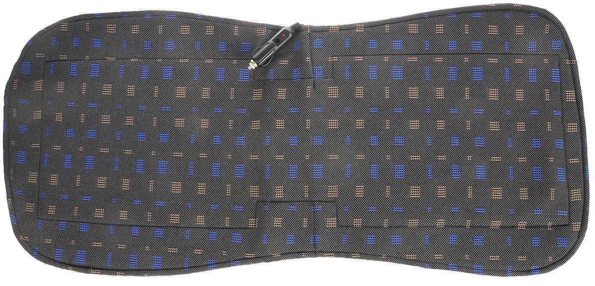Накидка на сиденье Главдор, с функцией подогрева, 48 х 36 смGL-476_коричневые и синие квадратыНакидка на сиденье с подогревом Главдор - это отличный подарок для автолюбителей. Изделие изготовлено из специальной ткани, термоизоляционного материала и хлопчатобумажной подкладки. Под верхним слоем ткани располагается нагревательный элемент, равномерно распределяющий тепло по всей поверхности накидки. Использование изделия позволяет уменьшить риск заболеваний, связанных с переохлаждением. Потребляемая мощность: 12В.