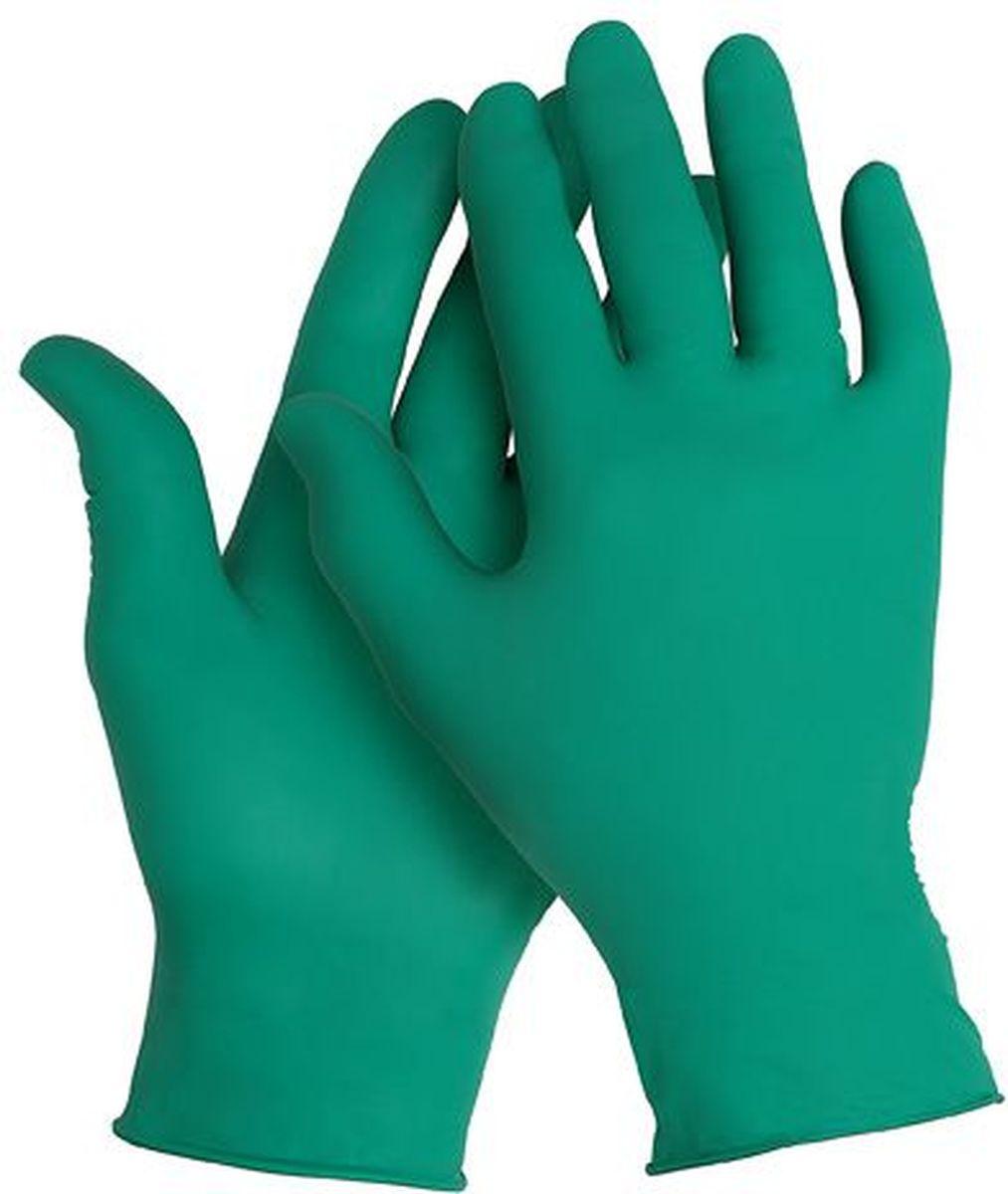 Перчатки хозяйственные Kleenguard G20, цвет: зеленый. Размер 6. 9009090090Ассортимент перчаток для защиты рук от химических веществ и механических воздействий – повышают безопасность работ и сокращают затраты. Идеальное решение, обеспечивающее защиту уровня СИЗ категории III (CE Complex) от брызг химических веществ в медицине, полиграфии, сельском хозяйстве, на участках сборки и окраски автомобилей, при выполнении аварийных работ, сборе мусора, химических разливов и утилизации отходов. Не содержат латекс и присыпок. Прочные и эргономичные перчатки с высокой тактильной чувствительностью. Могут быть использованы в пищевой промышленности или HoReCa. Формат поставки: сверхтонкие перчатки с универсальным дизайном для обеих рук; не содержат присыпку и латекс; усиленная манжета для дополнительной прочности, рельефная поверхность пальцев для лучшего захвата; широкий ассортимент размеров – от XS до XL – обеспечивает комфортное ношение. Размеры: 90090 - XS (6) 90091 - S (7) 90092 - M (8) 90093 - L (9)