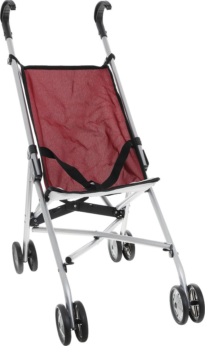 Melobo Прогулочная коляска для кукол цвет бордовый9302_бордовыйЛегкая и складная прогулочная коляска для кукол Melobo очень компактна, удобна в эксплуатации и комфортабельна. Рама коляски выполнена из облегченного металла, поэтому она легкая даже для маленьких девочек. Яркая ткань легко снимается и стирается, быстро сохнет. Коляска оборудована специальными ремнями, а ее ручки изготовлены из прочного пластика. Коляска для куклы удобна в применении на улице и в помещении. Благодаря этим качествам, ваша малышка всегда будет брать коляску на прогулку и катать свою любимую куколку.