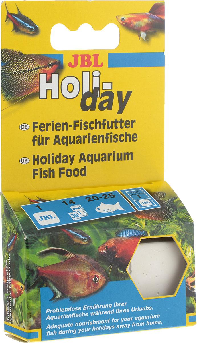Корм JBL Holiday для рыб, брикет, 33 гJBL4031000Корм JBL Holidayслужит для питания рыб во время отпуска владельца аквариума. Он содержит все компоненты, необходимые для здорового питания рыб. Корм содержит примесь EWG. Данного объема корма хватает приблизительно 25 декоративным рыбам средней величины на 2 недели. Брикет растворяется медленно по мере съедания рыбами. Состав: зерновые, рыба и побочные рыбные продукты, растительные продукты, дрожжи, водоросли, побочные продукты животного происхождения. Товар сертифицирован.