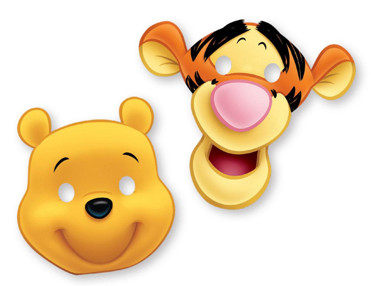 Procos Маска карнавальная детская Алфавит Винни 6 шт9910Карнавальная маска с Винни-Пухом принесет веселье и хорошее настроение на любой детский праздник. Ну, а если добавить к ней бесшабашного друга Винни-Пуха, Тигру - то атмосфера вечеринки станет еще веселее! Маски выполнены из прочного картона и имеют отверстия для глаз, она закрепляются на голове с помощью резинки. Надевайте маски от греческой компании Procos и начинайте веселиться!