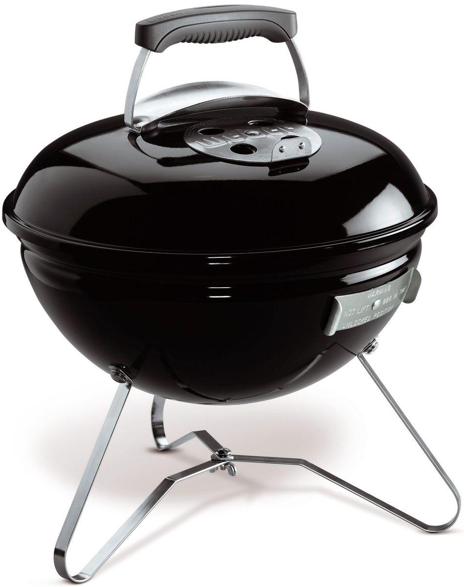 """Гриль угольный Weber """"Smokey Joe Premium"""", цвет: черный, 37 см 1121004"""