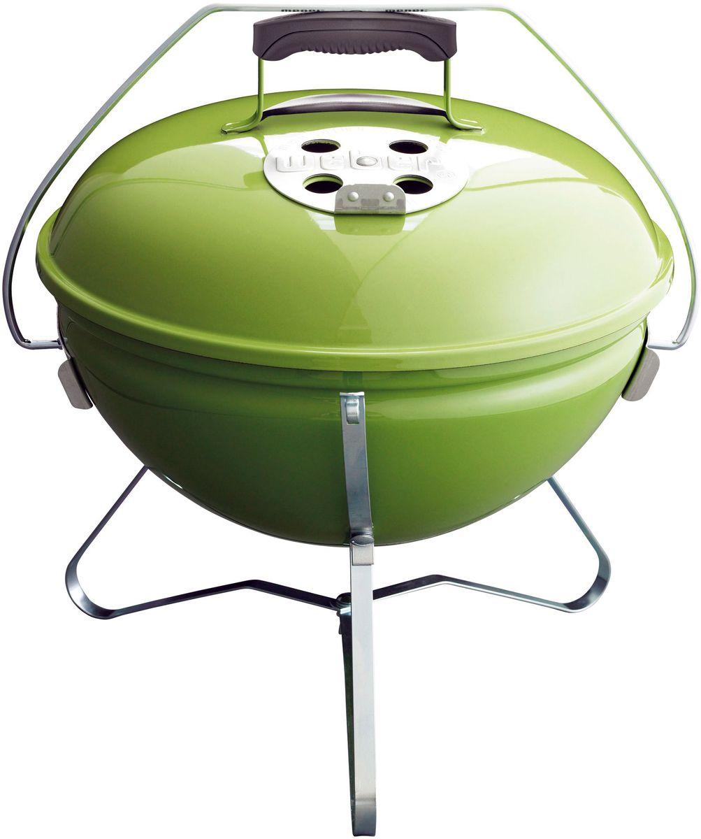 Гриль угольный Weber Smokey Joe Premium, цвет: зеленый, 37 см1127704