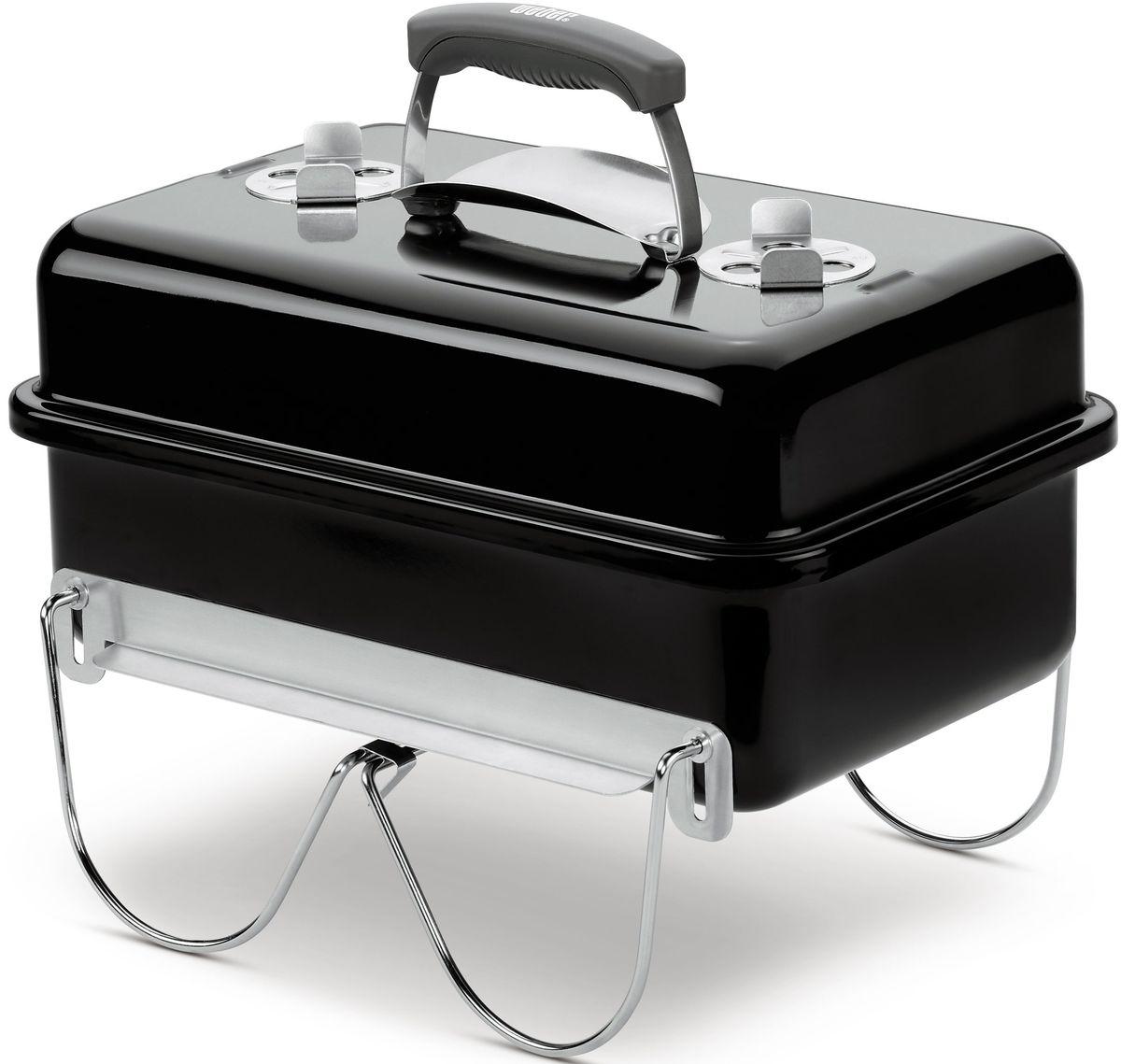 Гриль угольный Weber Go-Anywhere, цвет: черный1131004