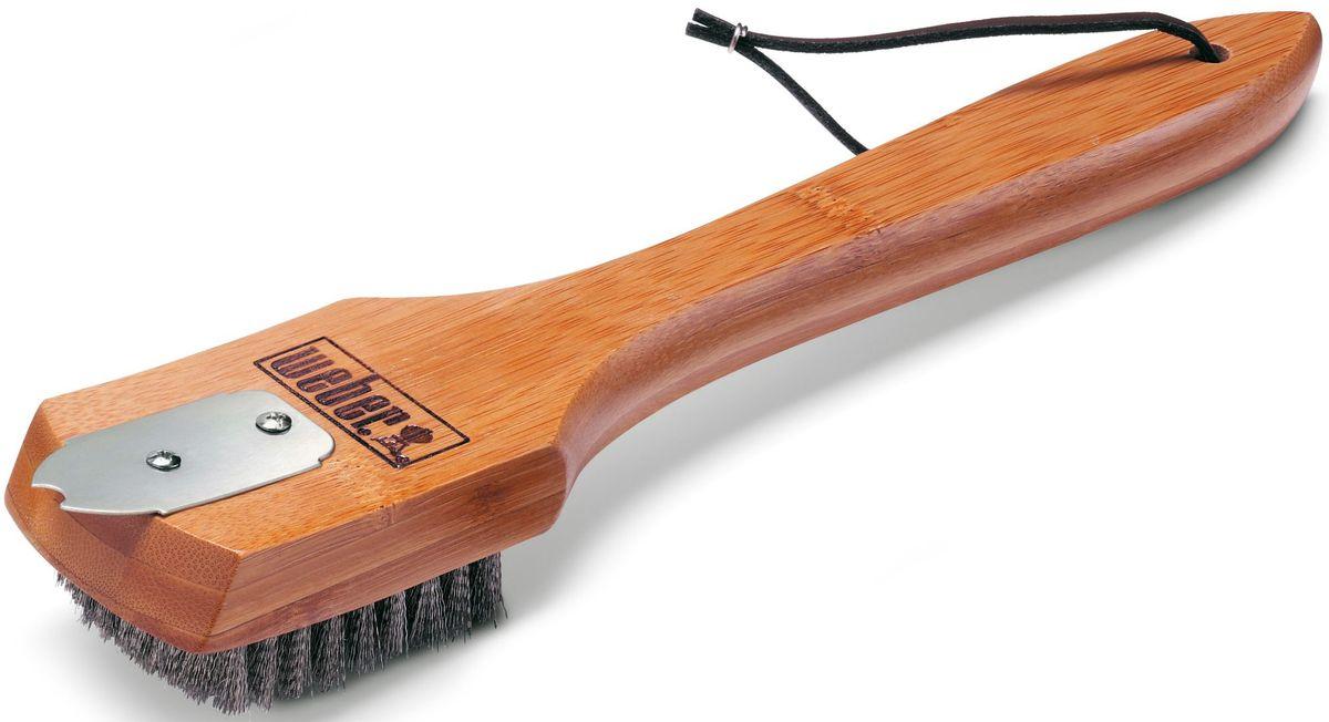 Щетка для гриля Weber, с бамбуковой ручкой, 30 см6463