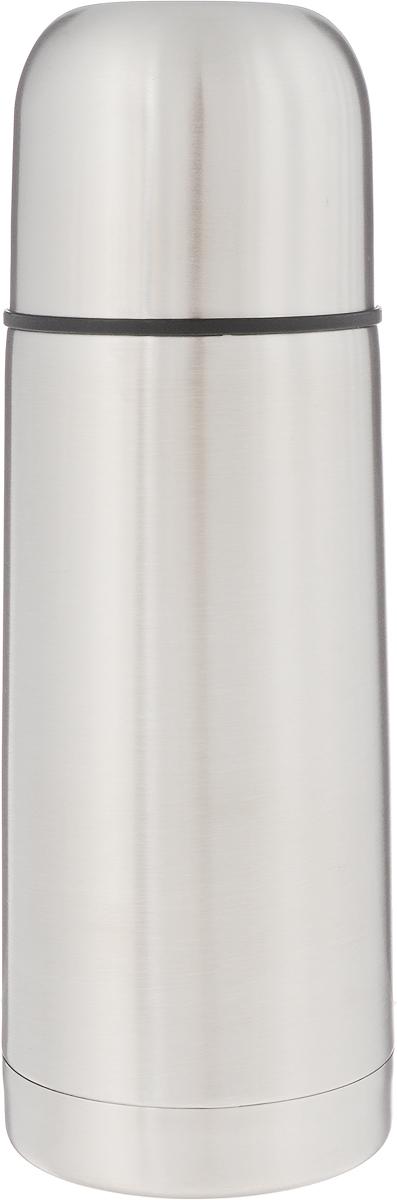 Термос Arctix, 350 мл. 336-07035336-07035Термос Arctix изготовлен из высококачественной нержавеющей стали. Двухслойный корпус сохраняет температуру на срок до 24 часов. Термос предназначен для горячих и холодных напитков. Герметичная закручивающаяся крышка-пробка предохраняет от проливаний. Крышку можно использовать как чашку. Стильный металлический термос понравится абсолютно всем и впишется в любой интерьер кухни. Диаметр горлышка: 4,5 см. Диаметр основания термоса: 6,5 см. Высота термоса: 19,5 см.