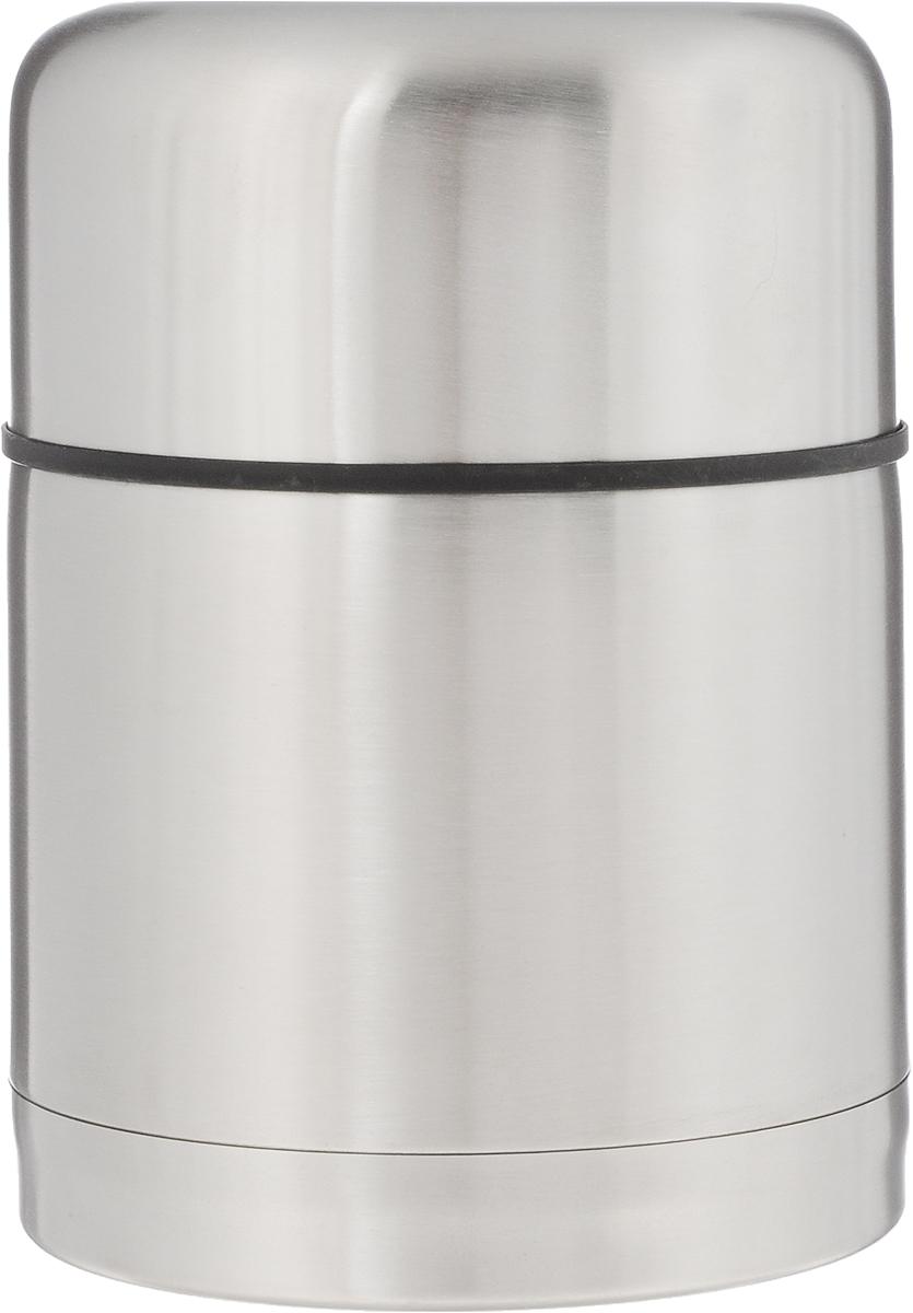 Термос Arctix, 500 мл336-07150Термос Arctix изготовлен из высококачественной нержавеющей стали. Двухслойный корпус сохраняет температуру на срок до 24 часов. Термос предназначен для горячих и холодных продуктов, но лучше всего для супа. Термос оснащен глухой крышкой-пробкой, которая предотвращает проливание, а кнопка служит для спуска пара. Крышку можно использовать как чашку. Стильный металлический термос понравится абсолютно всем и впишется в любой интерьер кухни. Диаметр горлышка: 8,5 см. Диаметр основания термоса: 10 см. Высота термоса: 14,5 см.
