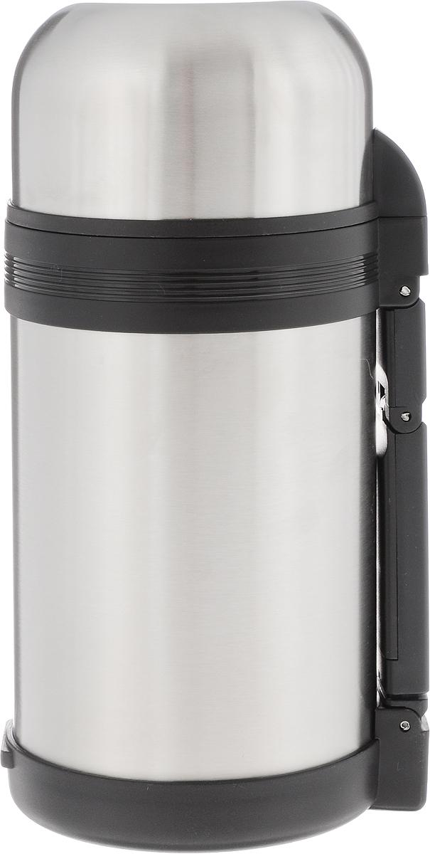 Термос пищевой Arctix, с чашей, 1 л336-10010Термос Arctix сохранит вашу еду или напитки горячими в течение долгого времени. Изделие выполнено из высококачественной нержавеющей стали с элементами из пластика. Термос оснащен крышкой, которую можно использовать в качестве чаши или миски, также есть дополнительная чаша и ремешок на плечо для удобной переноски. Пробка термоса состоит из двух составных частей: узкая внутренняя пробка пригодится для напитков, а более широкую внешнюю часть можно снять, чтобы удобнее было доставать из термоса еду. Забудьте об этих неудобствах - вместительный и компактный термос Arctix с радостью послужит вам в качестве миниатюрной полевой кухни, поднимет настроение нарядным внешним видом и вкусной домашней едой. Время сохранения температуры (холодной и горячей): 24 часа. Диаметр горлышка (по верхнему краю): 7,5 см. Диаметр клапана: 4 см. Диаметр крышки (по верхнему краю): 10,5 см. Высота крышки: 6 см. Диаметр чаши (по верхнему...
