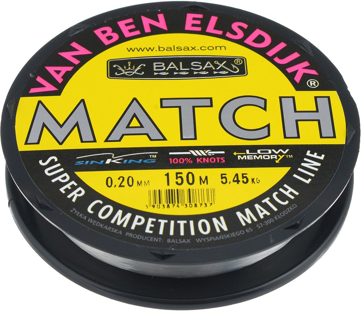 Леска Balsax Match VBE, 150 м, 0,20 мм, 5,45 кг304-10020Опытным спортсменам, участвующим в соревнованиях, нужна надежная леска, в которой можно быть уверенным в любой ситуации. Леска Balsax Match VBE отличается замечательной прочностью на узле и высокой сопротивляемостью к истиранию. Она была проверена на склонность к остаточным деформациям, чтобы убедиться в том, что она обладает наиболее подходящей растяжимостью, отвечая самым строгим требованиям рыболовов. Такая леска отлично подходит как для спортивного, так и для любительского рыболовства.