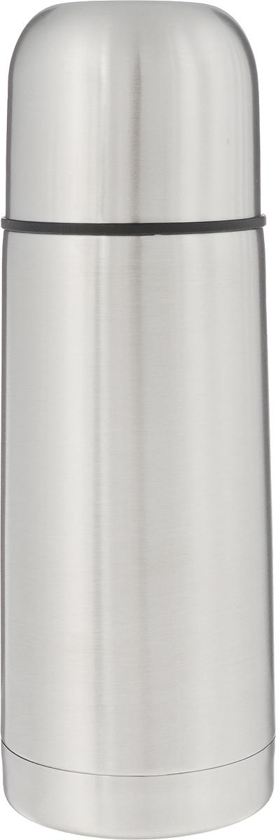 Термос Arctix, 350 мл336-17035Термос Arctix изготовлен из высококачественной нержавеющей стали. Двухслойный корпус сохраняет температуру на срок до 24 часов. Термос предназначен для горячих и холодных напитков. Вакуумный закручивающийся клапан предохраняет от проливаний, а удобная кнопка-дозатор избавит от необходимости каждый раз откручивать крышку. Крышку можно использовать как чашку. Стильный металлический термос понравится абсолютно всем и впишется в любой интерьер кухни. Диаметр горлышка: 4,5 см. Диаметр основания термоса: 6,5 см. Высота термоса: 19,5 см.