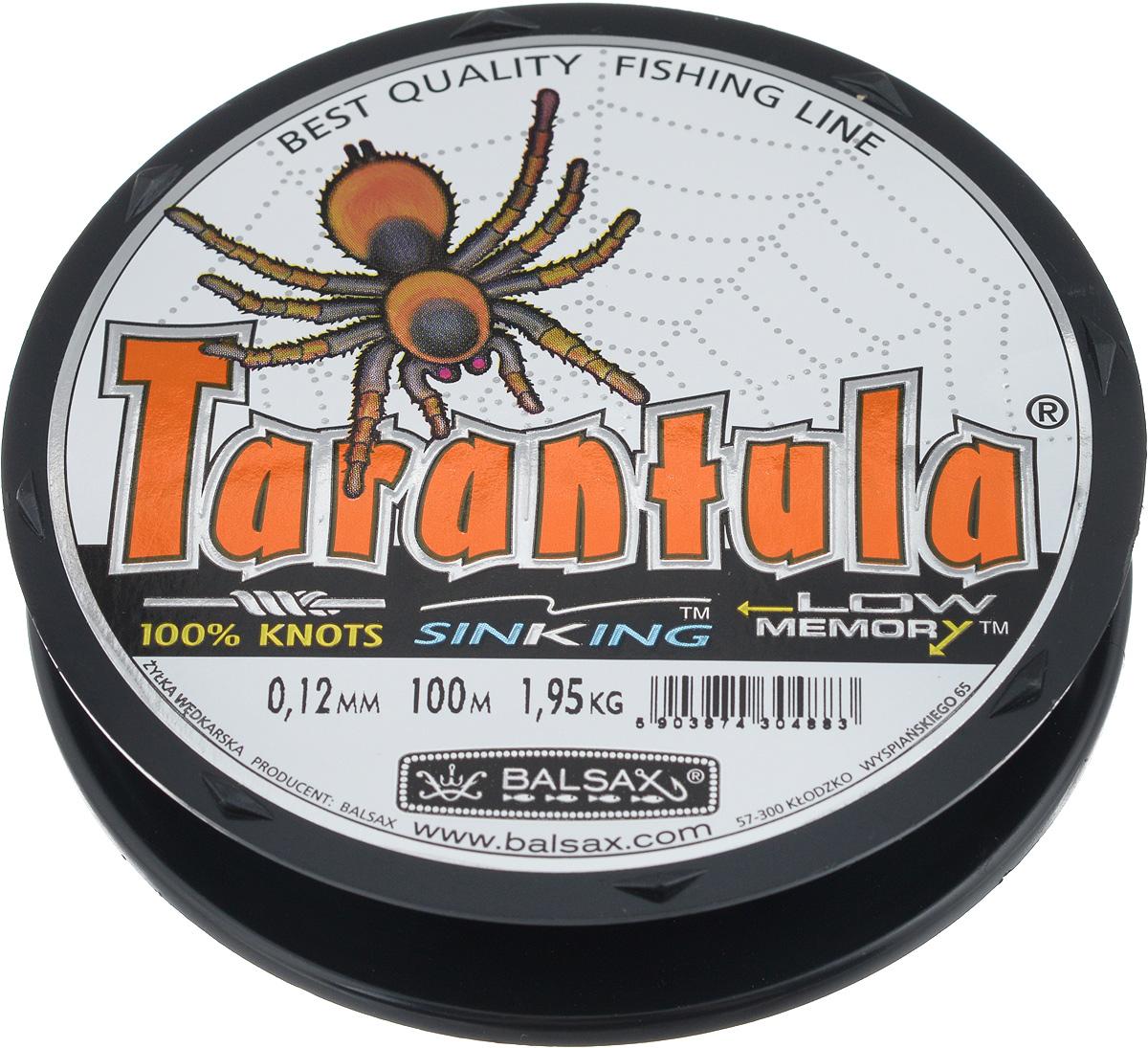 Леска Balsax Tarantula, 100 м, 0,12 мм, 1,95 кг304-09012Леска Balsax Tarantula выполнена из нейлоновой рибозы с покрытием из тефлона. Новая молекулярная структура лески отличается повышенной сопротивляемостью к разрыву, но при этом она способна и растягиваться. Растяжимость в случае применения этой лески является отличным достоинством, особенно во время энергичной борьбы с рыбой, как амортизатор защищая оснастку от обрыва.