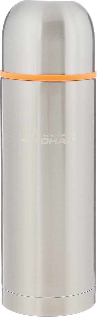 Термос Тонар HS TM-021, с чашей, 1 л149729Термос Тонар HS TM-021 выполнен из нержавеющей стали и оснащен двойными стенками с вакуумной изоляцией, которая позволяет сохранять напитки горячими или холодными длительное время. Отлично сохраняет температуру, свежесть напитка и его оригинальный вкус. Дополнительная теплоизоляция внутри пробки. Пробка без кнопки надежно закрывает колбу и проста в использовании. Крышка может послужить вместительной чашкой, также в комплект входят дополнительная чаша и инструкция по эксплуатации. Термос сохраняет тепло до 12 часов и удерживает холод до 24 часов. Диаметр горлышка: 5 см. Диаметр основания: 8,8 см. Высота (с учетом крышки): 28,5 см. Размер крышки: 9 х 9 х 7 см. Размер чаши: 8 х 8 х 5 см.