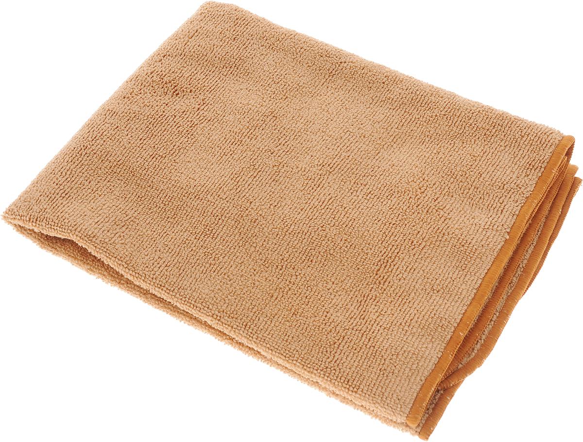 Тряпка-салфетка для пола Meule Premium, цвет: коричневый, 50 х 70 см4607009241180_коричневыйТряпка-салфетка Meule Premium выполнена из высококачественной микрофибры (80% полиэстер, 20% полиамид). Мягкая тряпка-салфетка очень большой плотности и большого размера, с хорошо выраженными ворсинками, предназначена для мытья любых типов полов. Идеально впитывает влагу, полирует поверхность, удаляет загрязнения и пыль. Легко стирается и долговечна в использовании.