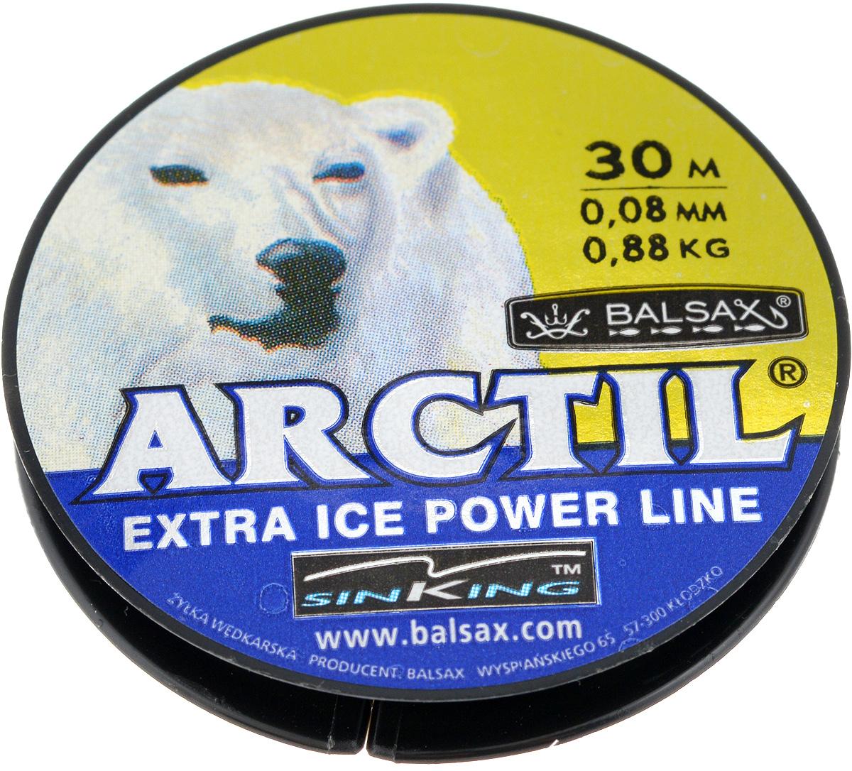 Леска зимняя Balsax Arctil, 30 м, 0,08 мм, 0,88 кг312-07008Леска Balsax Arctil изготовлена из 100% нейлона и очень хорошо выдерживает низкие температуры. Даже в самом холодном климате, при температуре вплоть до -40°C, она сохраняет свои свойства практически без изменений, в то время как традиционные лески становятся менее эластичными и теряют прочность. Поверхность лески обработана таким образом, что она не обмерзает и отлично подходит для подледного лова. Прочна в местах вязки узлов даже при минимальном диаметре.