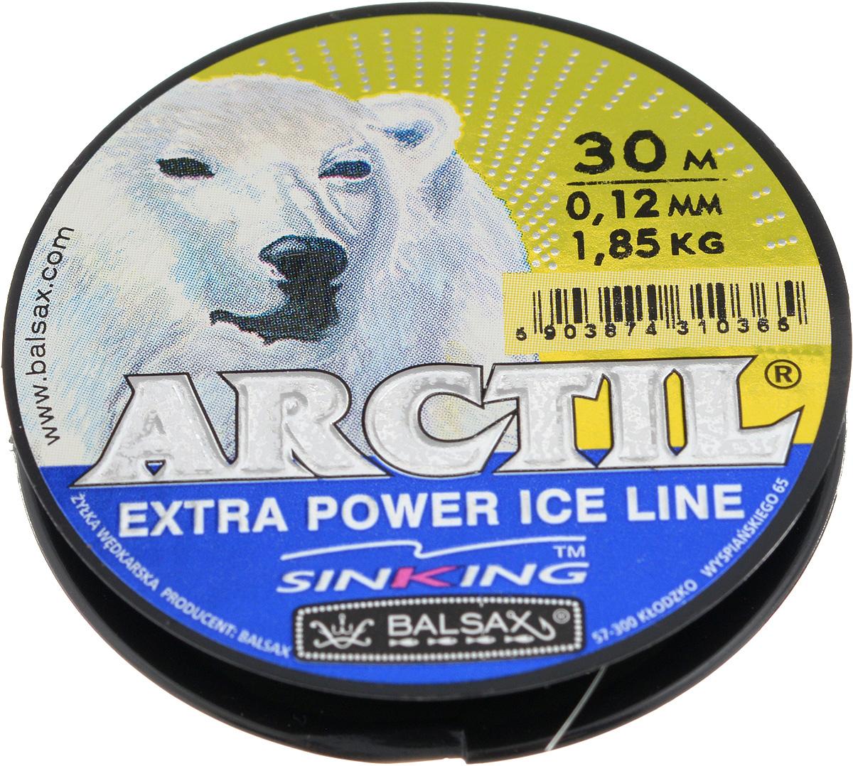 Леска зимняя Balsax Arctil, 30 м, 0,12 мм, 1,85 кг312-07012Леска Balsax Arctil изготовлена из 100% нейлона и очень хорошо выдерживает низкие температуры. Даже в самом холодном климате, при температуре вплоть до -40°C, она сохраняет свои свойства практически без изменений, в то время как традиционные лески становятся менее эластичными и теряют прочность. Поверхность лески обработана таким образом, что она не обмерзает и отлично подходит для подледного лова. Прочна в местах вязки узлов даже при минимальном диаметре.