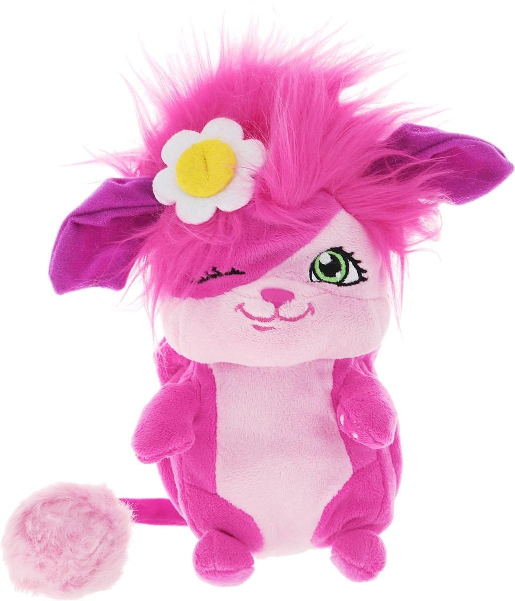 Popples Мягкая игрушка Bubbles 20 см56300_розовый, сиреневый, цветочкиМягкая игрушка Popples Bubbles - это замечательный подарок для вашего малыша. Игрушка отличается оригинальным дизайном и качественным исполнением. Она выполнена из безопасных материалов в виде очаровательной зверюшки с длинным хвостиком. Игрушка дополнена сзади специальным карманом, который можно вывернуть. У зверька есть уникальная способность - с помощью этого кармашка он может буквально сворачиваться в клубочек! Очень интересная, яркая и эффектная игрушка. Зверёк станет верным другом для каждого ребенка, подарит множество приятных мгновений и непременно поднимет настроение. Эта милая и забавная игрушка обязательно понравится вашему ребенку.
