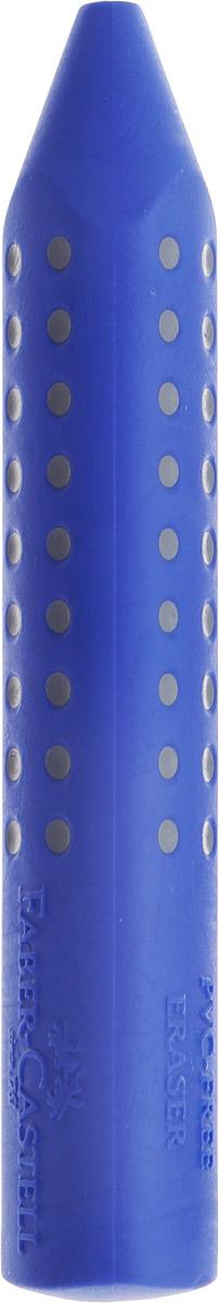 Faber-Castell Ластик Grip 2001 цвет синий187101Ластик Faber-Castell Grip 2001 станет незаменимым аксессуаром на рабочем столе не только школьника или студента, но и офисного работника. Аккуратный ластик эргономичной формы не оставляет грязных разводов. Кроме того высококачественный ластик не повреждает бумагу даже при многократном стирании.