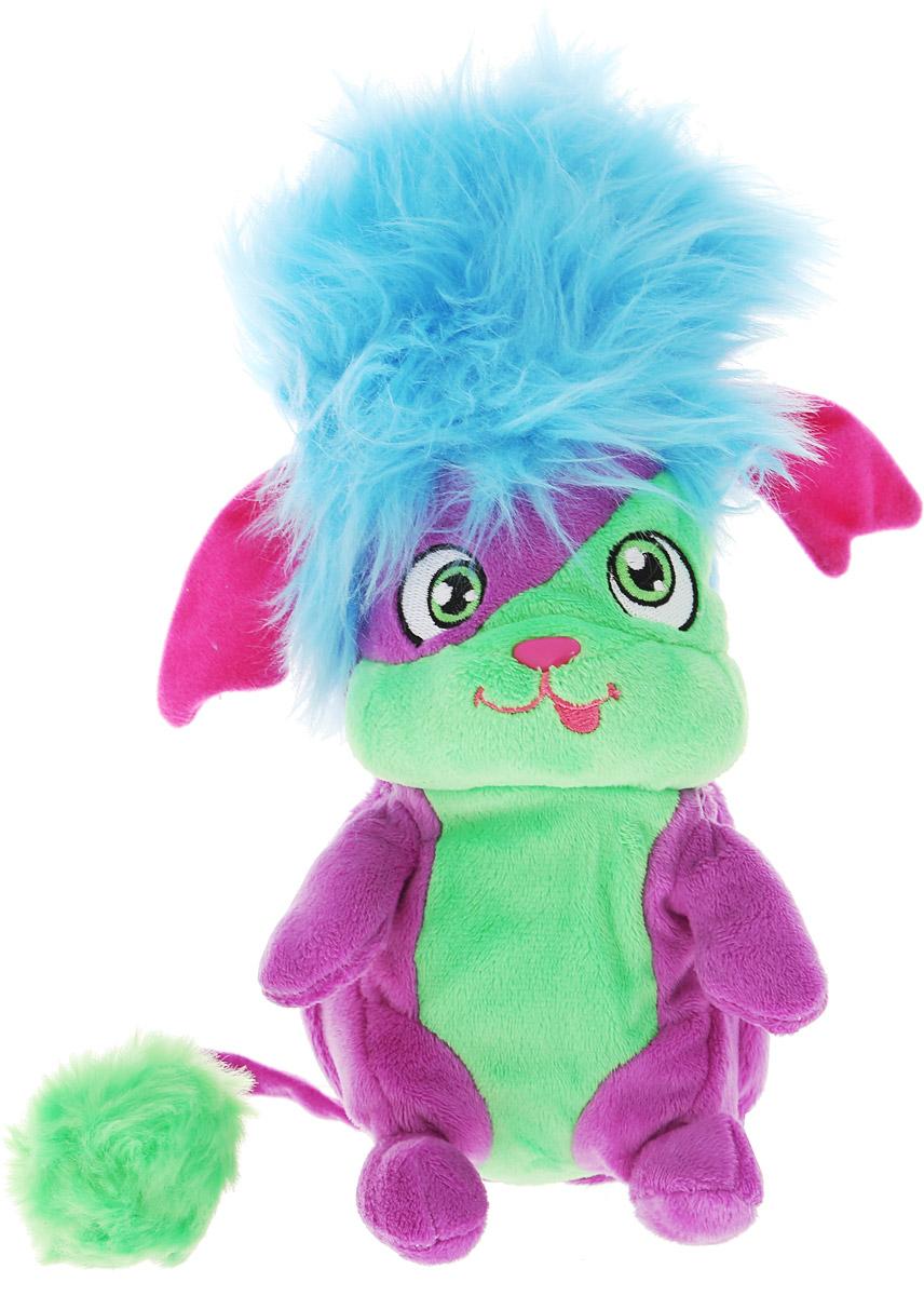 Popples Мягкая игрушка Yikes 23 см56300_голубой, фиолетовый, зеленыйМягкая игрушка Popples Yikes - это замечательный подарок для вашего малыша. Игрушка отличается оригинальным дизайном и качественным исполнением. Она выполнена из безопасных материалов в виде очаровательной зверюшки с длинным хвостиком. Игрушка дополнена сзади специальным карманом, который можно вывернуть. У зверька есть уникальная способность - с помощью этого кармашка он может буквально сворачиваться в клубочек! Очень интересная, яркая и эффектная игрушка. Зверёк станет верным другом для каждого ребенка, подарит множество приятных мгновений и непременно поднимет настроение. Эта милая и забавная игрушка обязательно понравится вашему ребенку.