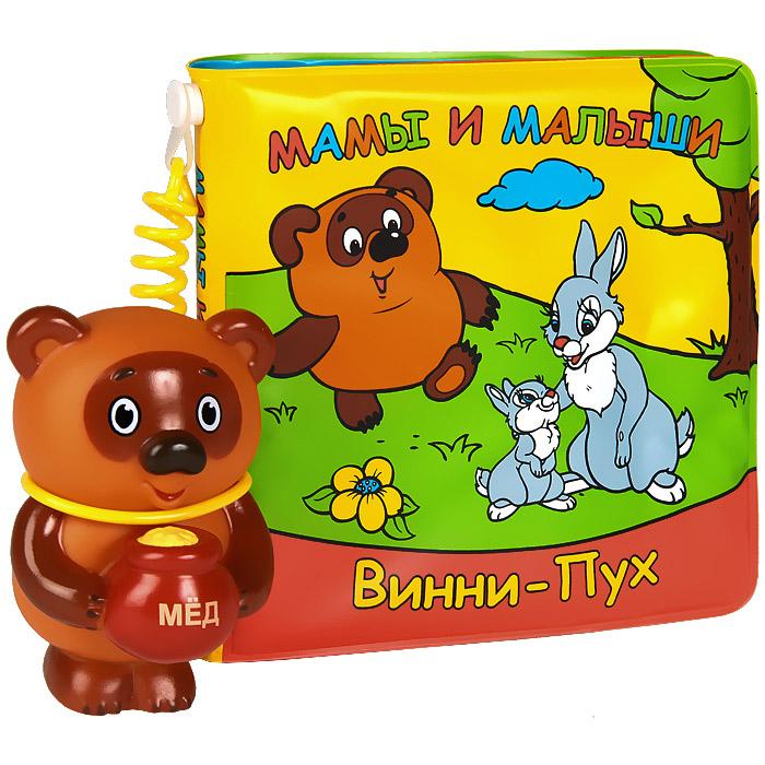 Умка Книжка-игрушка Мамы и малыши Винни-Пух