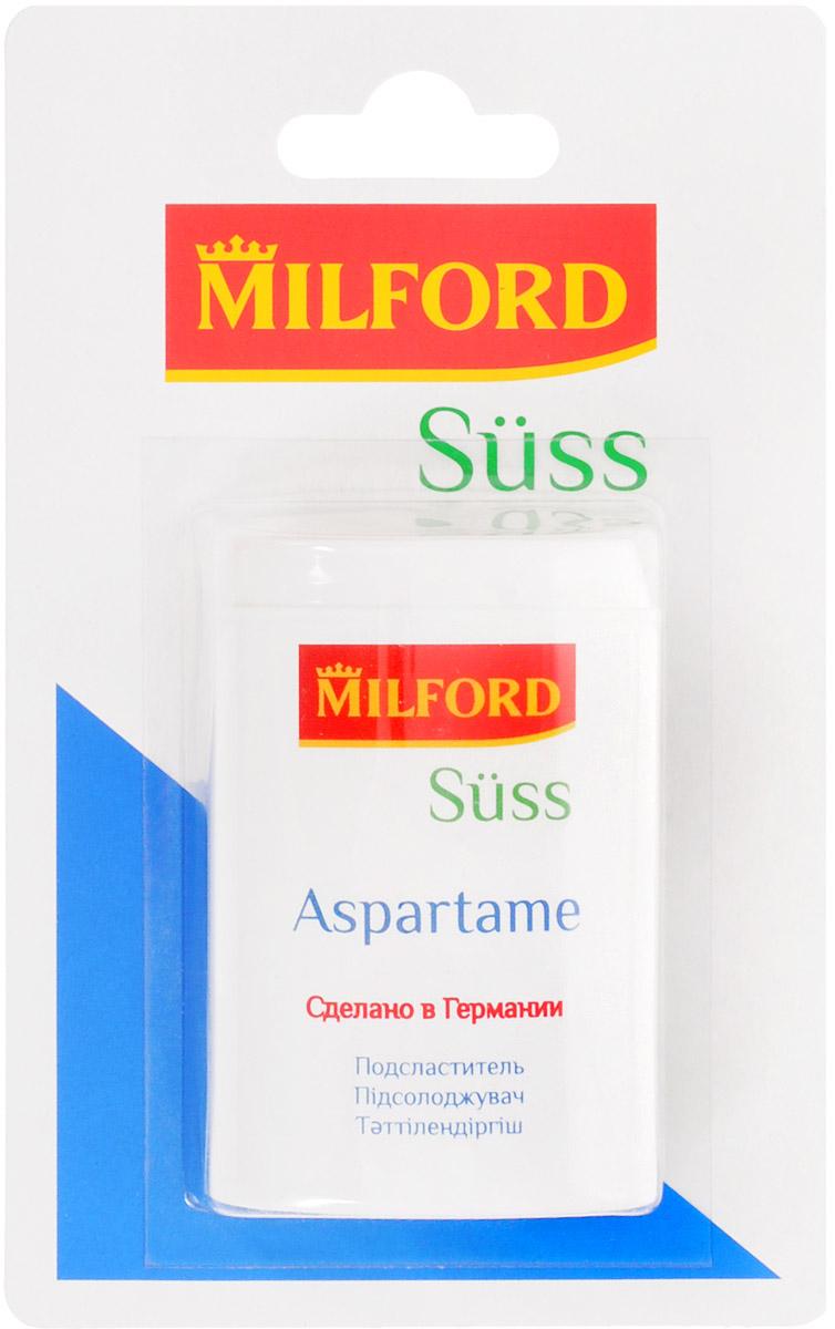 Milford Suss подсластитель с аспартамом, 300 штнаа1051 таблетка подсластителя содержит 7 мг аспартама и 7 мг ацесульфама К и соответствует по сладости 1 кусочку (примерно 4,4 грамма) сахара. 300 таблеток соответствуют по сладости 1,32 кг сахара. Содержит лактозу. Содержит источник фенилаланина. Противопоказан больным фенилкетонурией. Уважаемые клиенты! Обращаем ваше внимание, что полный перечень состава продукта представлен на дополнительном изображении.