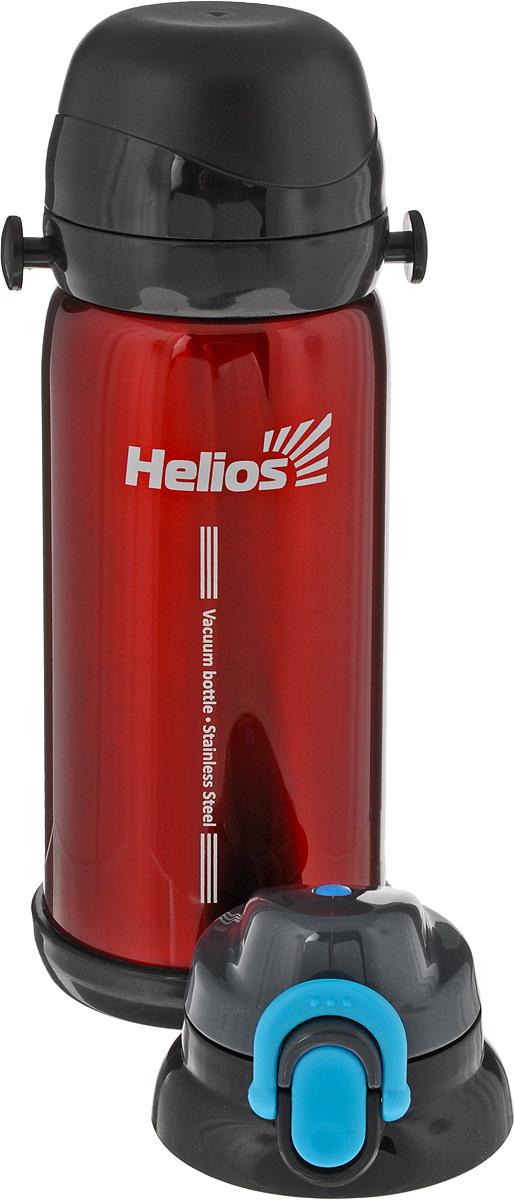Термос Helios HS TM-006, с дополнительной пробкой, 800 мл128966Термос Helios HS TM-006 оснащен двойными стенками с вакуумной изоляцией, которая позволяет сохранять напитки горячими или холодными длительное время. Изготовлен из высококачественной нержавеющей стали, с защитным покрытием. Отлично сохраняет температуру, свежесть напитка и его оригинальный вкус. Дополнительная теплоизоляция внутри пробки. Пробка с клавишной конструкцией плотно закрывает колбу, а также дает возможность при наливании не открывать термос целиком для сохранения температуры содержимого. Крышка может послужить вместительной чашкой, также в комплект входят дополнительная пробка с поилкой и инструкция по эксплуатации. Термос сохраняет тепло до 12 часов и удерживает холод до 24 часов. Диаметр горлышка: 5 см. Диаметр основания: 8 см. Высота (с учетом крышки): 25 см. Размер крышки-чаши: 8 х 8 х 4,5 см.