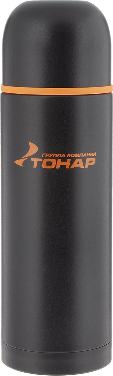 Термос ТОНАР HS TM-026, с чашей, 1,2 л149727Термос ТОНАР HS TM-026 оснащен двойными стенками с вакуумной изоляцией, которая позволяет сохранять напитки горячими или холодными длительное время. Изготовлен из высококачественной нержавеющей стали, с защитным покрытием. Отлично сохраняет температуру, свежесть напитка и его оригинальный вкус. Дополнительная теплоизоляция внутри пробки. Пробка без кнопки надежно закрывает колбу и проста в использовании. Крышка может послужить вместительной чашкой, также в комплект входят дополнительная чаша и инструкция по эксплуатации. Термос сохраняет тепло до 12 часов и удерживает холод до 24 часов. Диаметр горлышка: 5 см. Диаметр основания: 9 см. Высота (с учетом крышки): 33 см. Размер крышки-чаши: 9 х 9 х 7 см. Размер чаши: 8 х 8 х 5 см.