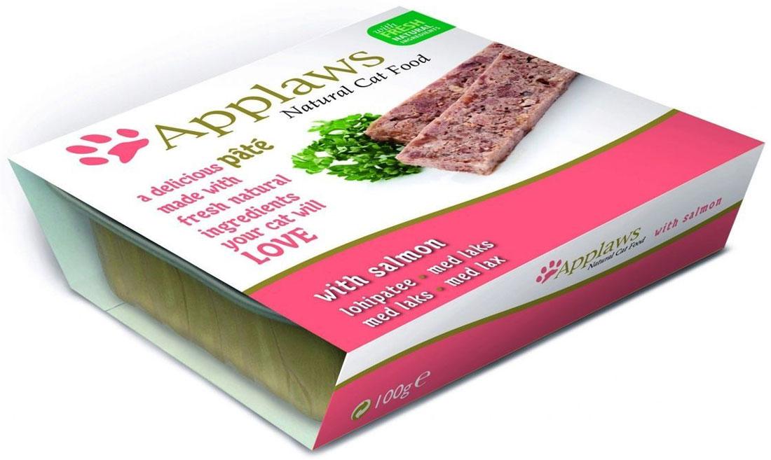 Паштет для Кошек с Лососем (Cat Pate with Salmon), 100 г24375Нежный паштет Applaws – это полнорационная порция мясного/рыбного мусса с добавлением всех необходимых для собаки витаминов и минералов. Упаковка в виде алюминиевого контейнера прекрасно сохраняет качество ингредиентов и его непревзойденный вкус. Состав: Курица 35%, Свинина 23%, Лосось 8%, Индейка 4%, Форель 4%. Пищевые добавки: Витамин Е 30 МЕ/кг, Сульфат меди 1мг/кг, Сульфат цинка 20 мг/кг. Гарантированный анализ: Белки 10%, Жиры 5,5%, Клетчатка 0,2%, Зола 2,3%, Влага 82%. Условия хранения: в прохладном темном месте