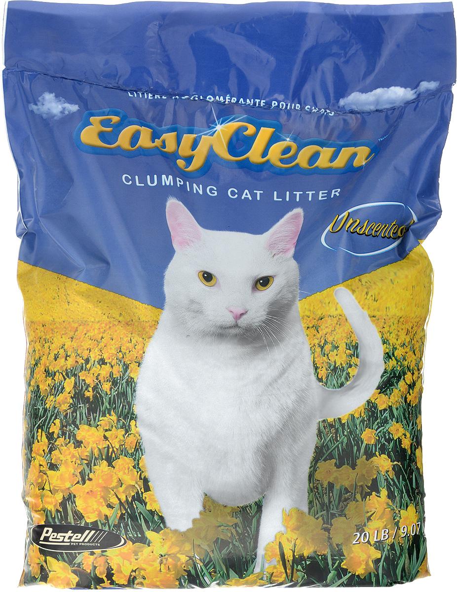 "Наполнитель для кошачьих туалетов ""Easy Clean"", комкующийся, без запаха, 9 кг 20425"