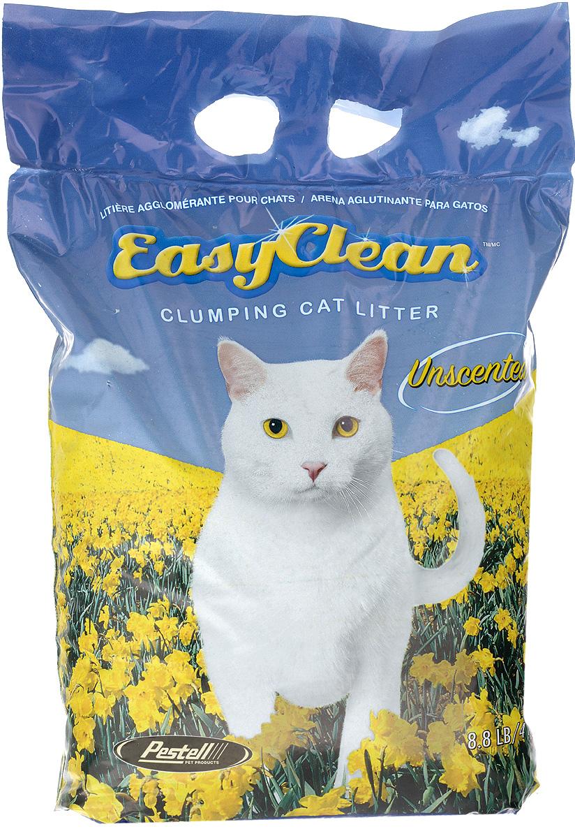 "Наполнитель для кошачьих туалетов ""Easy Clean"", комкующийся, без запаха, 4 кг 20426"