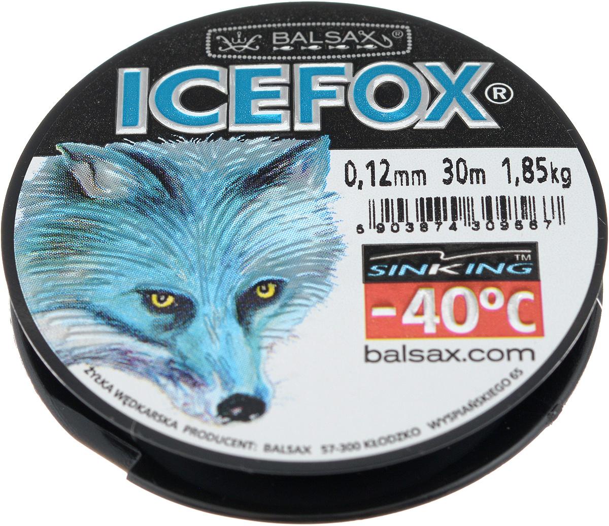 Леска зимняя Balsax Ice Fox, 30 м, 0,12 мм, 1,85 кг310-07012Леска Balsax Ice Fox изготовлена из 100% нейлона и очень хорошо выдерживает низкие температуры. Даже в самом холодном климате, при температуре вплоть до -40°C, она сохраняет свои свойства практически без изменений, в то время как традиционные лески становятся менее эластичными и теряют прочность. Поверхность лески обработана таким образом, что она не обмерзает и отлично подходит для подледного лова. Прочна в местах вязки узлов даже при минимальном диаметре.
