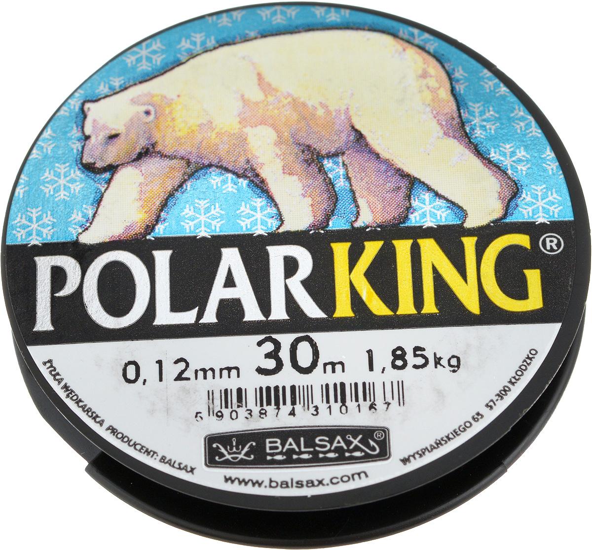 Леска зимняя Balsax Polar King, 30 м, 0,12 мм, 1,85 кг310-13012Леска Balsax Polar King изготовлена из 100% нейлона и очень хорошо выдерживает низкие температуры. Даже в самом холодном климате, при температуре вплоть до -40°C, она сохраняет свои свойства практически без изменений, в то время как традиционные лески становятся менее эластичными и теряют прочность. Поверхность лески обработана таким образом, что она не обмерзает и отлично подходит для подледного лова. Прочна в местах вязки узлов даже при минимальном диаметре.