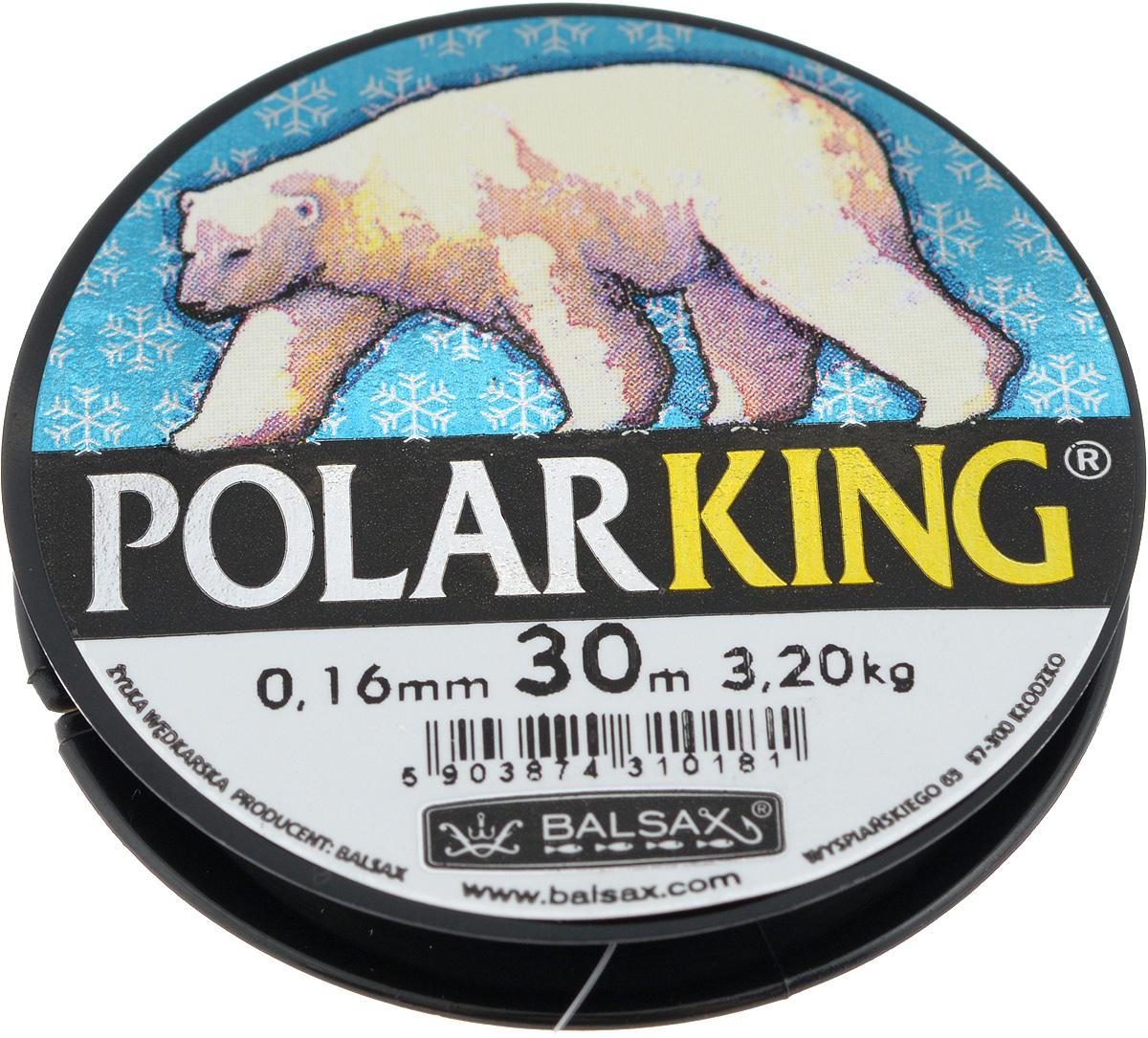 Леска зимняя Balsax Polar King, 30 м, 0,16 мм, 3,2 кг310-13016Леска Balsax Polar King изготовлена из 100% нейлона и очень хорошо выдерживает низкие температуры. Даже в самом холодном климате, при температуре вплоть до -40°C, она сохраняет свои свойства практически без изменений, в то время как традиционные лески становятся менее эластичными и теряют прочность. Поверхность лески обработана таким образом, что она не обмерзает и отлично подходит для подледного лова. Прочна в местах вязки узлов даже при минимальном диаметре.