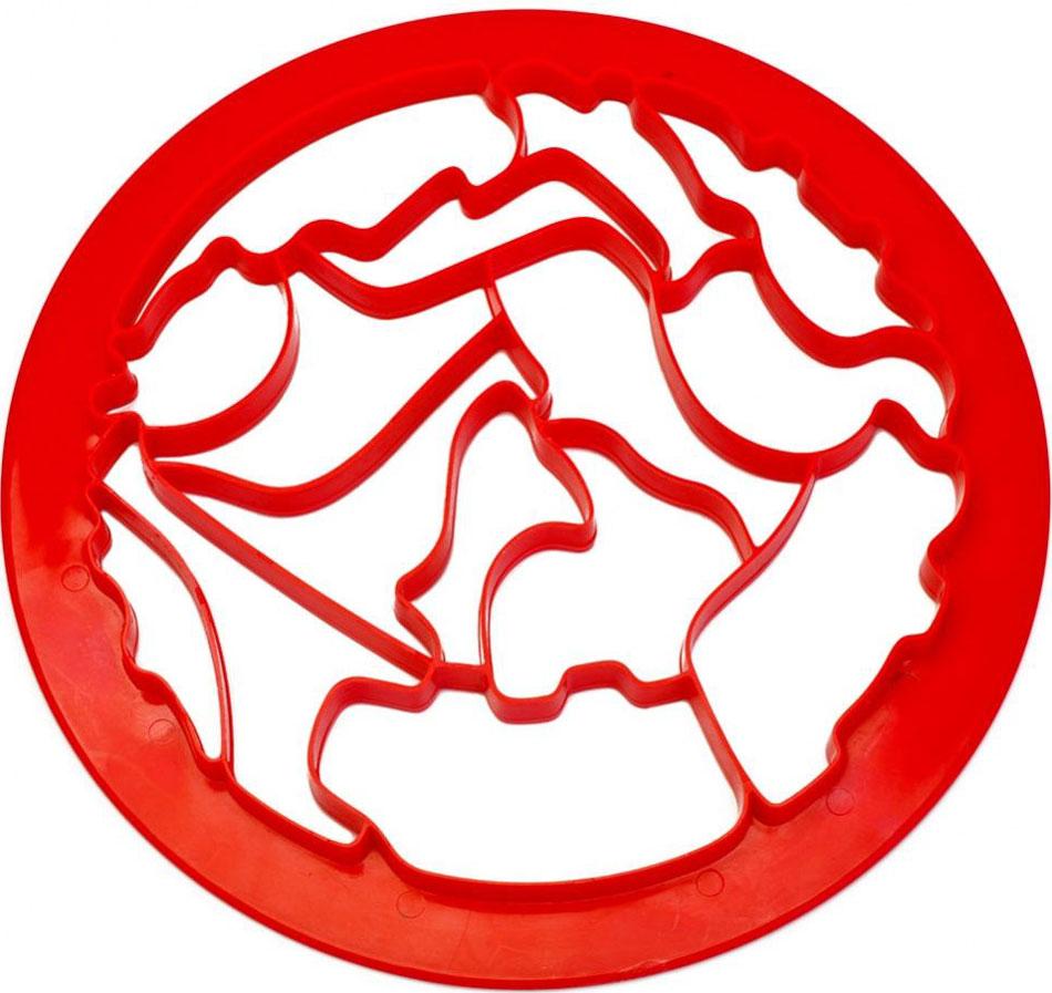 Форма для вырезания печенья Bradex ЗоопаркTK 0214Пластиковая пресс-форма для вырезания печенья Bradex Зоопарк позволяет одним нажатием вырезать из теста сразу 15 фигур в виде различных животных, птиц и рыб. Легкость в использовании позволяет готовить вместе с ребенком.