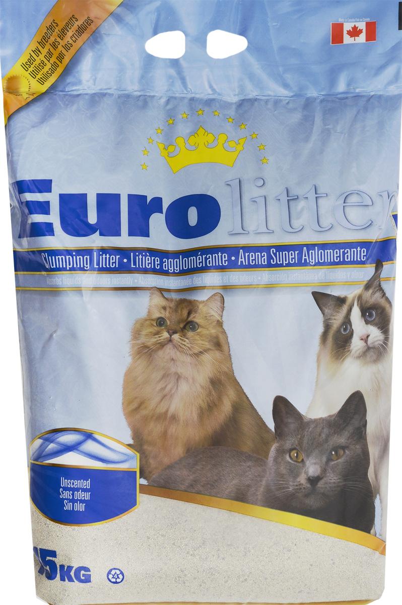 Наполнитель для кошачьих туалетов Eurolitter Контроль запаха, комкующийся, без пыли, без запаха, 15 кг24518Eurolitter Контроль запаха - это высококачественный канадский комкующийся наполнитель без пыли. Он сделан на основе высококачественной натриевой бентонитовой глины. Структура гранул обладает исключительной способностью моментально образовывать плотный комок при попадании на продукт фекалий животного. Наполнитель нейтрализует запахи, обеспечивает абсолютный комфорт как кошке, так и владельцу! Товар сертифицирован.