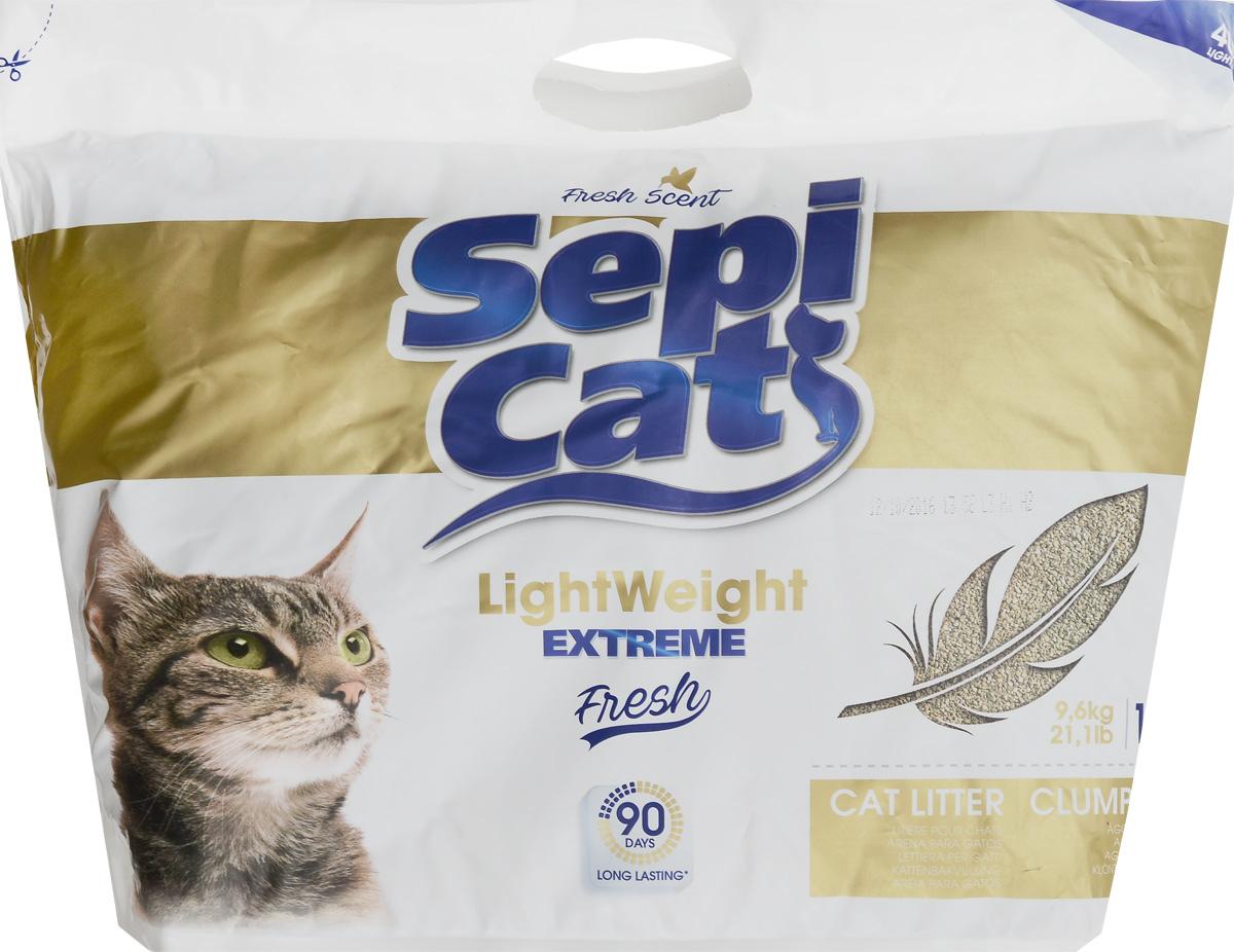 Наполнитель для кошачьих туалетов SepiCat LightWeight, комкующийся, облегченный, экстра, 16 л20751Облегченный комкующийся наполнитель SepiCat LightWeight очень прост в использовании. Его легкий вес позволит поддерживать лоток вашего любимца в чистоте легко и просто. Преимущества наполнителя SepiCat Pearls: - минимальное потребление, - при контакте с жидкостью издает приятный аромат детской присыпки, - бережно относится к окружающей среде, - рекомендован для кошек с чувствительными лапками. Товар сертифицирован.